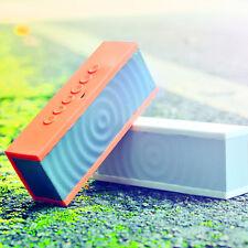10W Portable Bluetooth UNIVERSAL SPEAKER Wireless Speakerphone MIC Loud WHITE