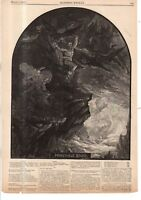 1867 Harpers Weekly - Nast- Andrew Johnson as Prometheus bound; Bounties on USA
