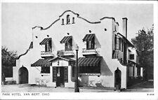 Postcard,Van Wert, OH, Park Hotel, Mission Architecture, Now Gone