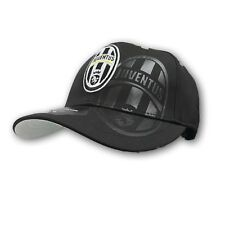 Juventus Black Curved Brim New With Tags Size L/X-large