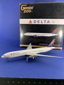 """Gemini Jets 1:200 Delta Boeing 777-200 """"Spirit of Atlanta"""" Final 777 flight"""