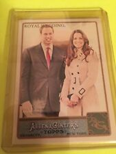 2011 Allen & Ginter Royal Wedding Prince William Kate Middleton Regular Card 293