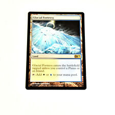 1 PLAYED Glacial Fortress Land m12 Magic 2012 Mtg Magic Rare 1x x1