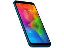 LG Q7+ - 64GB - Blue (T-mobile metropcs Unlocked) Smartphone B Good
