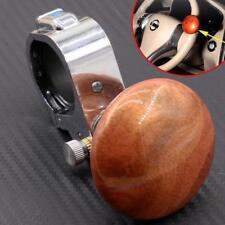 Universal Peach Wood Color Car Steering Wheel Power Handle grip Knob Power ball