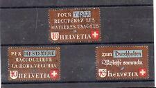 Suiza Serie del año 1942 (DR-530)