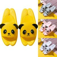 Parent-Child Kids Couples Family Cute Cartoon Shoes House Non-Slip Pool Slippers