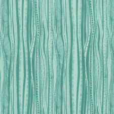 Studio KM PWKM026 Persia Deco Jade Cotton Fabric By The Yard