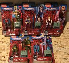 Masters Of The Universe Mega Construx Adam Moss Man Evil Lyn Stratos Skeletor