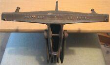 1899 & 1904 Antique E.C. STEARNS & CO. SWIVEL HEAD SAW VISE Cast Iron Tool