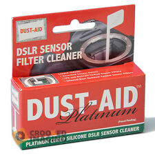 Dust-Aid Platinum Digitale DSLR Telecamera CCD Sensor pulitura a secco Kit-UK