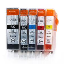 10x Ink Cartridges PGI525 CLI526 for Canon MX885 MG5150 MG5250 IP4950 Printer