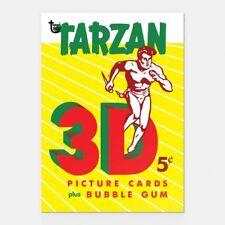 TARZAN TOPPS 1953 80TH ANNIVERSARY WRAPPER ART CARD #44 #Topps #Tarzan #Fantasy
