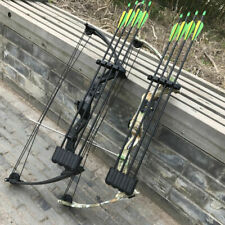"20 Pounds 20"" Pull distance JH7474 Black / Camo Aluminum Compound Bow Archery"