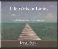 LIFE WITHOUT LIMITS   4 CDs           Joyce Meyer