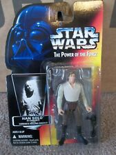 "Star Wars POTF Han Solo Carbonite Red Card Power of the Force  ""CASE FRESH"" NEW"