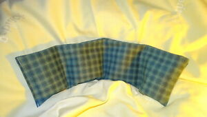Neck pain relieving wheat Bag  sewn into 4 sectional Ease Neck Pain & Tension