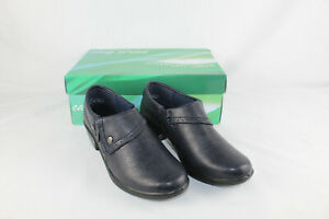 Easy Street Women's Comfort Wave Darcy Clogs, Navy Blue, Size 7 N, Style 40-8180