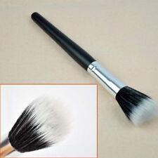 1X Foundation Stipple Powder Blush Brush Black Makeup Cosmetic Fiber  Fashion