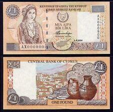 Cyprus 1 Pound 2004 P60d UNC**New Date