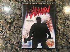 Madman DVD! Awesome 1981 Slasher! (see) The Burning & Friday The 13th Part 2