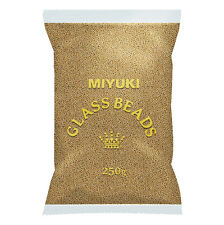 Miyuki Wholesale Size 11/0 Seed Beads Galvanised Yellow Gold 250g (M80/1)