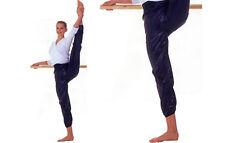 Donna Nero Roch Valley Warm Up Pantaloni Danza Pantaloni-Small-Balletto Adulti