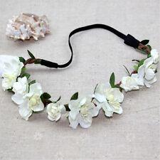 Boho Floral Women Girls Flower Hairband Headband Festival Party Wedding