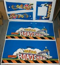 New! Williams Road Show Pinball Machine Cabinet Decal Set Free Shipping!