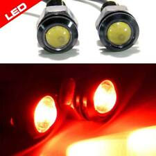 Projector 18mm Screw Lights 12v Tail Lights Turn Signal Stop Accent LED Bulbs 2