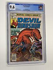 Devil Dinosaur 5 cgc 9.6 wp marvel 1978