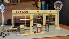 Texaco Buddy L Service Station Vintage gas metal  1960's WOW price dropped