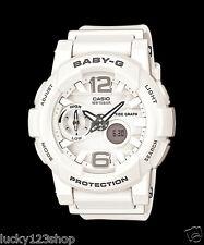 BGA-180-7B1 White Baby-G Casio Lady Watches Resin Band Digital Brand-New