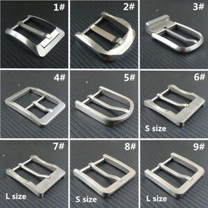 Pure Titanium Belt pin Buckle  Anti-allergy Ti Belt Buckles + Ti Belt loops