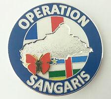 OPÉRATION SANGARIS Brevet OPEX du Armée Française en République Centrafricaine