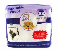Wiki Wags Male Dog Disposable Diaper Wraps *No.1 People's Choice**Free Sample*