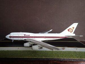 1/400 JC Wings Thai Airways Flaps Down 747 B747-400 HS-TGY  **READ DESCRIPTION**