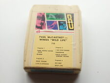 PAUL McCARTNEY & WINGS  8-TRACK STEREO TAPE   WILD LIFE
