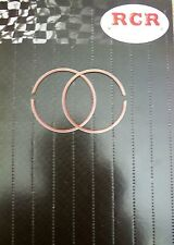 TWO STROKE COMPETITION PISTON RINGS 66MM x1MM THICK FLEXIBLE CHROME-FACE --