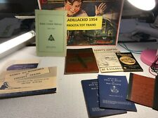 New Listing🚅 Various Vintage Railroad Books & Manuals- L👀K- Nice � B464