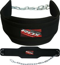 "RDX Dipping Belt 6"" Weight Lifting Dip Chain Gym Training Fitness Bodybuilding"