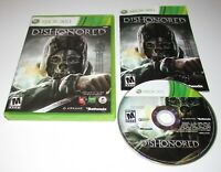 Dishonored for Xbox 360 Complete Fast Shipping!