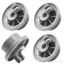 HOTPOINT Genuine Dishwasher Runner Rail Lower Basket Wheels x 4