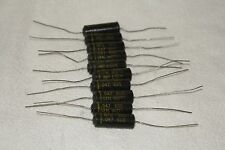 Lot Of 10 Nos Gen Instr ( General Instrument ) Imp .047 @ 600 V Capacitors 1950s
