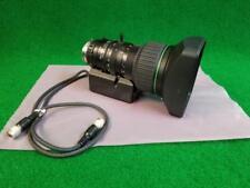 Canon YJ20x8.5B4 KTS PX12 Remote Motor Drive Lens w/ HR-85S III Lens Hood