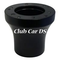 Club Car DS Golf Cart Black Steering Wheel Hub Adapter 5/6 Hole 1985 to Current