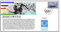 OLYMPIC GAMES LEGENDS COVER, JESSE OWENS ATHLETICS