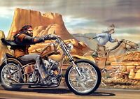 Art Print Poster / Canvas David Mann Ghost Rider