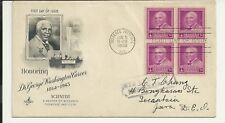 US FDC 1948 Honoring Dr George Washington Carver Scientist Tuskegee Institute