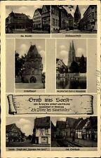 Soest Sauerland Mehrbild-AK ua. Jakobi-Straße Feldpostkarte Feldpost gelaufen